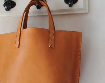Artemis Leatherware Hand Stitched Leather Handbag