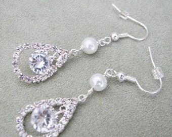 bridal earrings, wedding earrings, bridal jewellery, bridal wedding wedding jewelry bridal earrings, crystal bridal,  bridal, bridal jewlery
