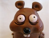 RESERVED for MILLIE/ Crazy Little Critter Polymer Clay Animal