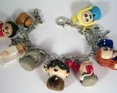 Doctor Who 10th Doctor Charm Bracelet