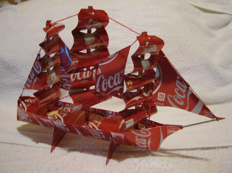 Handmade Coca Cola Ship By Canartcrafts2204 On Etsy