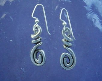 Corkscrew and Spiral Earrings EE92