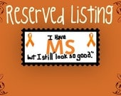 RESERVED LISTING for Monica Haynes