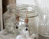 Tangle earrings (night)