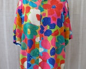 Vintage JAMS Best Summer Silk Shirt