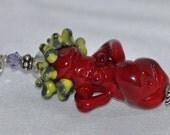 Pregnant Handmade Glass Fertility Goddess-MADE to ORDER- Glass Art Revealed SRA F-82