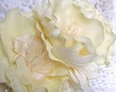 Bridal Flower Headband, Bridal Hair Flowers, Wedding Headpiece, Yellow Hair Flowers, Bridal Headband, Fascinator, Yellow