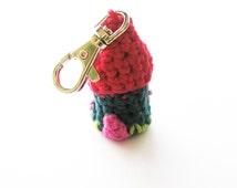 Crochet House Keychain Pattern - Instant Download