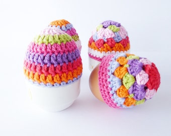 Crochet Egg Cosies Pattern - Instant Download