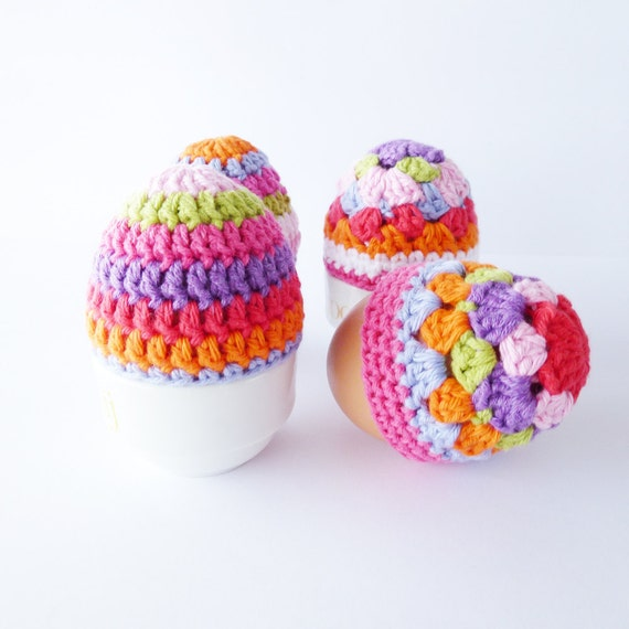 PDF Crochet Patterns Egg Cosies - English (US terms) and Dutch version available - Instant Download