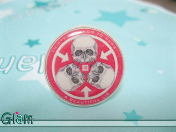 A Beautiful Lie Ring