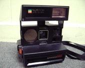 Vintage Polaroid Instant Film Sun 660 600 Film Camera Analog Sonar AF Use Impossible Project Films