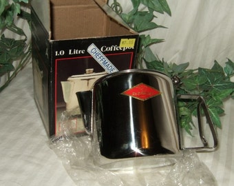 Vintage coffee pot Elephant Maspion stainless steel kaffeekanne New Zealand New old stock  stainless steel travel pot