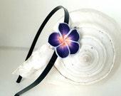 Plumeria Headband, Hawaiian Headband, Polymer Clay, Wedding, Adult and Kids Headband, Flower Headband, Hawaiian Accessories