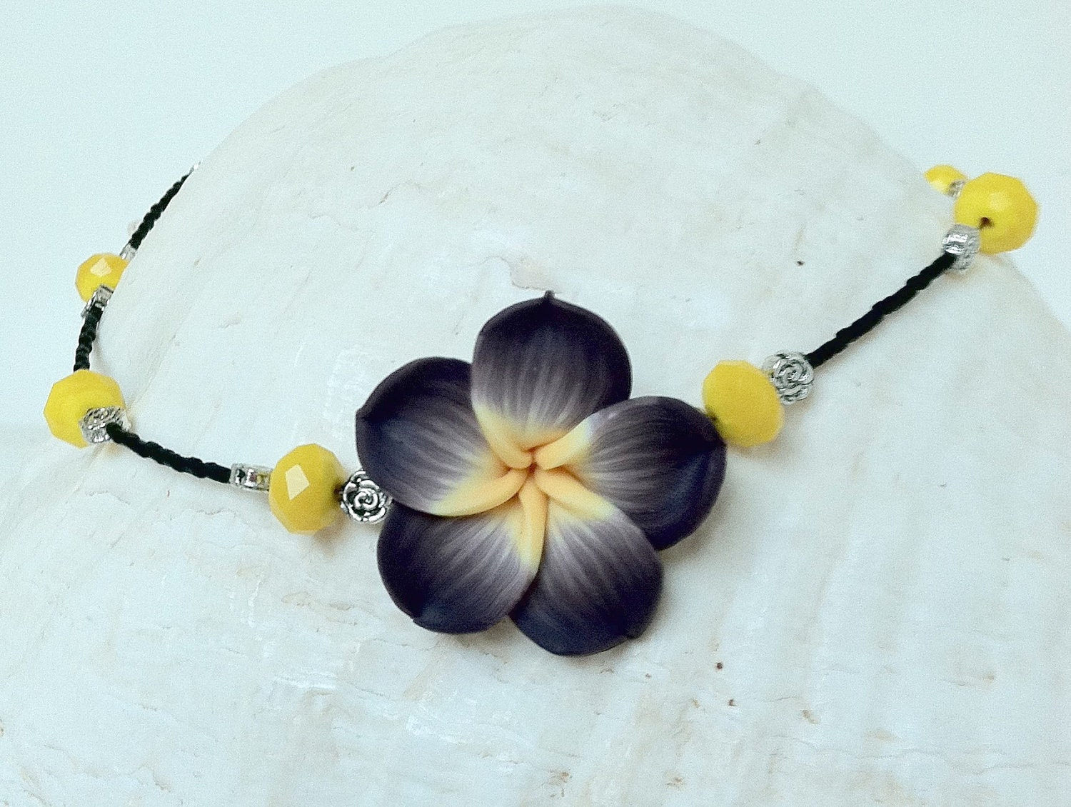 hawaiian plumeria necklace hawaiian jewelry by natashaaloha