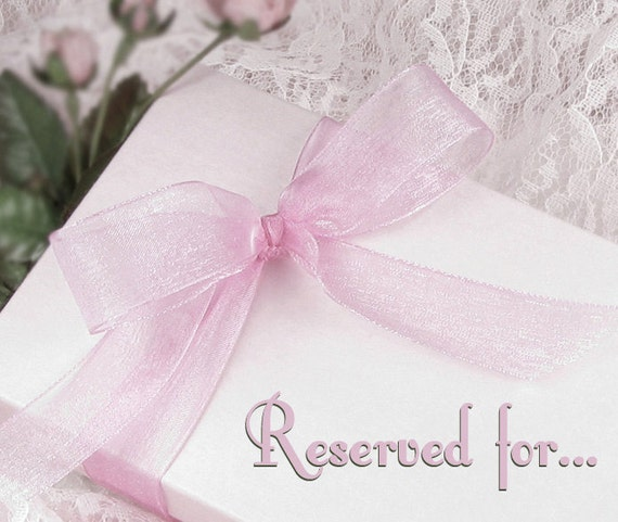Reserved Listing for Periwinklesky