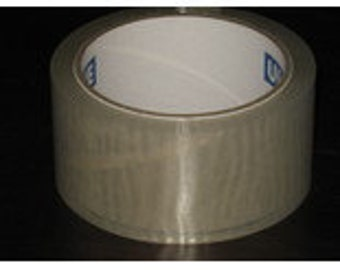 Tape Clear Packing Shipping Packaging Sealing 3 inch x 110yd 2 pack