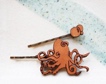 Octopus Hair Pin Set - Bobby Pin Hair Accessory