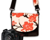 Digital Slr Camera Bag, DSLR Camera Bag Purse, Women's Camera Bag, Zippered Pocket, Water Resistant Fabric, Asian Fabric