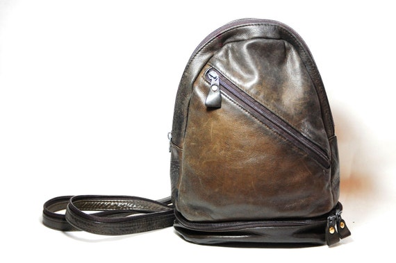 Soft Leather Backpack/Pouch/Organizer