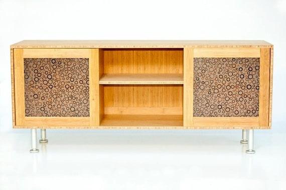 Modern Bamboo TV Stand