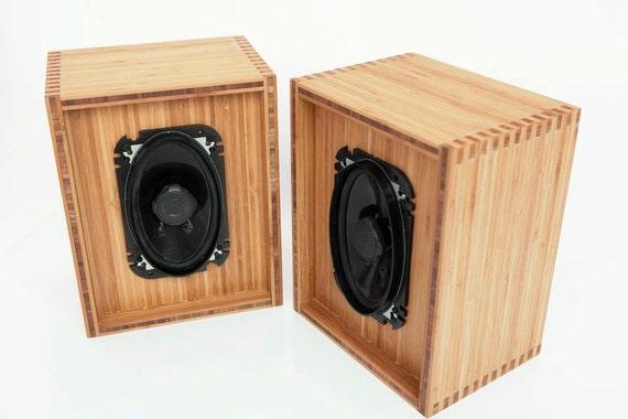 Bamboo Speaker Box