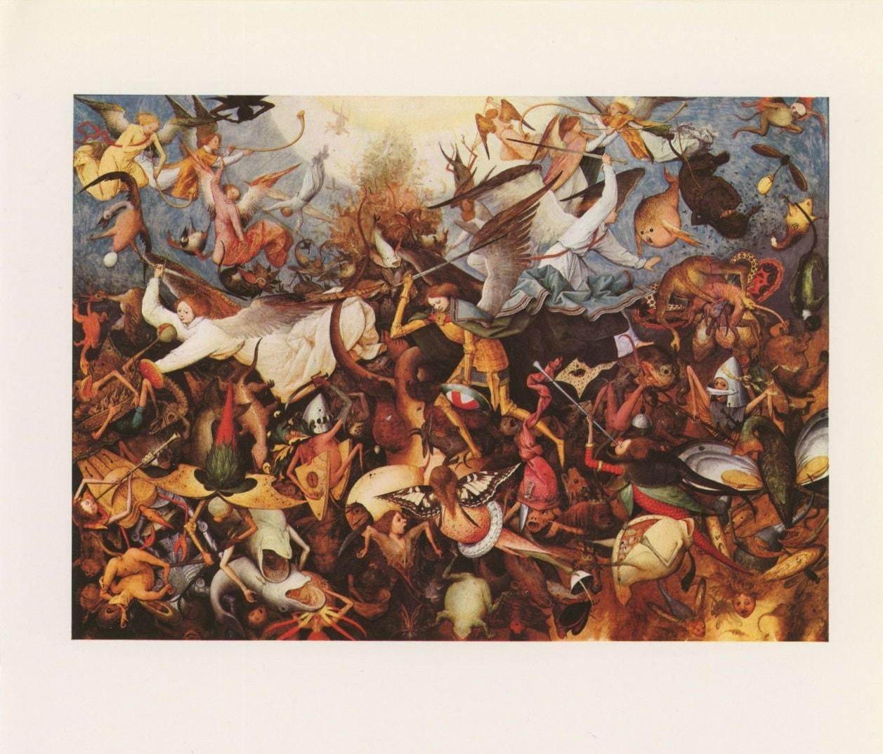 Vs Demons Battle   Angels Vs Demons War   Angels Demons PaintingAngels Demons Painting
