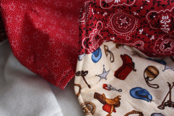 Cowboy Baby Blanket One Of A Kind