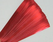 Red Foil : Lucky Stars Paper Strips (100)