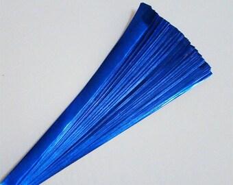 Deep-Blue Foil : Lucky Stars Paper Strips (100)