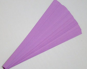 Lucky Stars Paper Strips (100): Purple