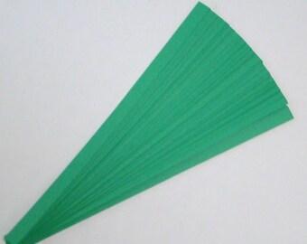 Green : Lucky Stars Paper Strips (100)