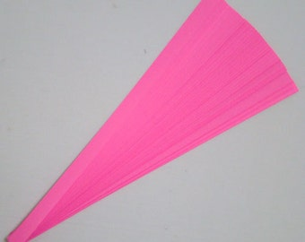 Hot Pink : Lucky Stars Paper Strips (100)