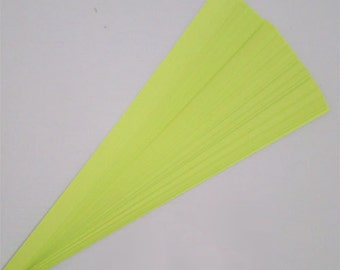 Lucky Stars Paper Strips (100): Lime Green