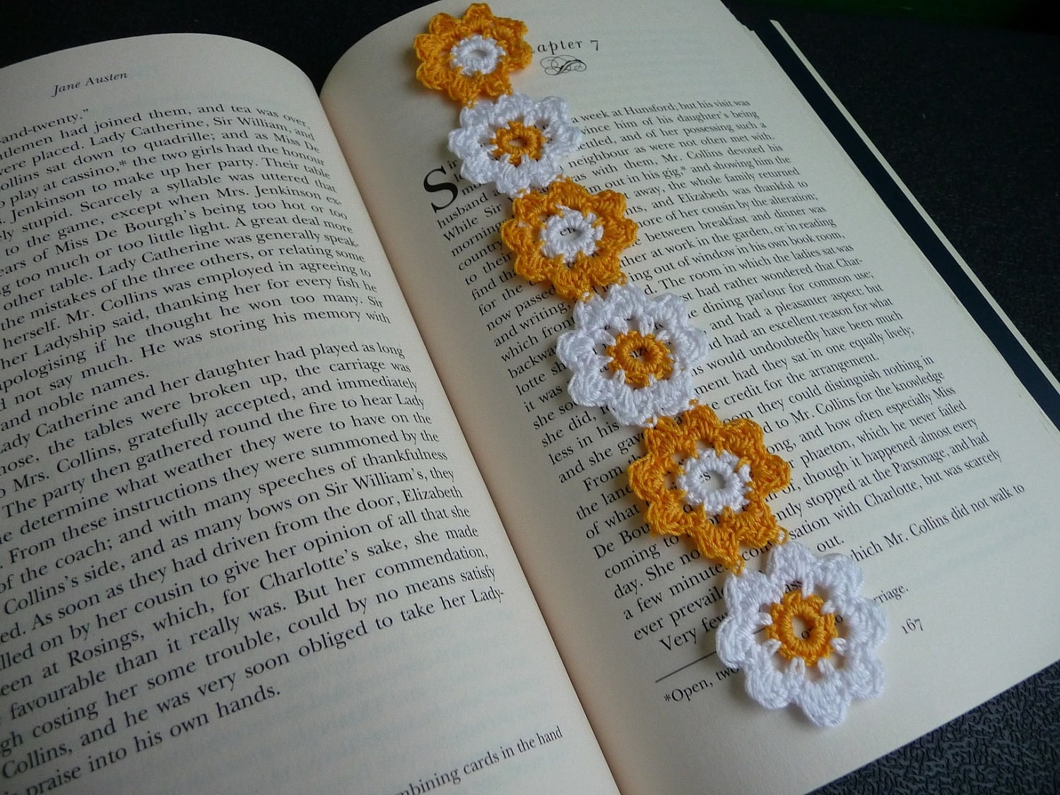 Crochet Bookmarks : Floral Crochet bookmarks Pinterest