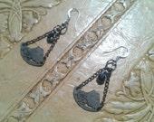 Quantum Cradles - Steampunk Industrial Earrings