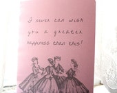 Little Women Journal - Happiness Quote