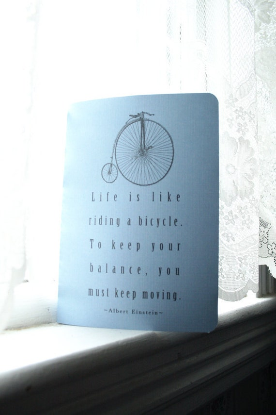 Einstein's Bike Journal