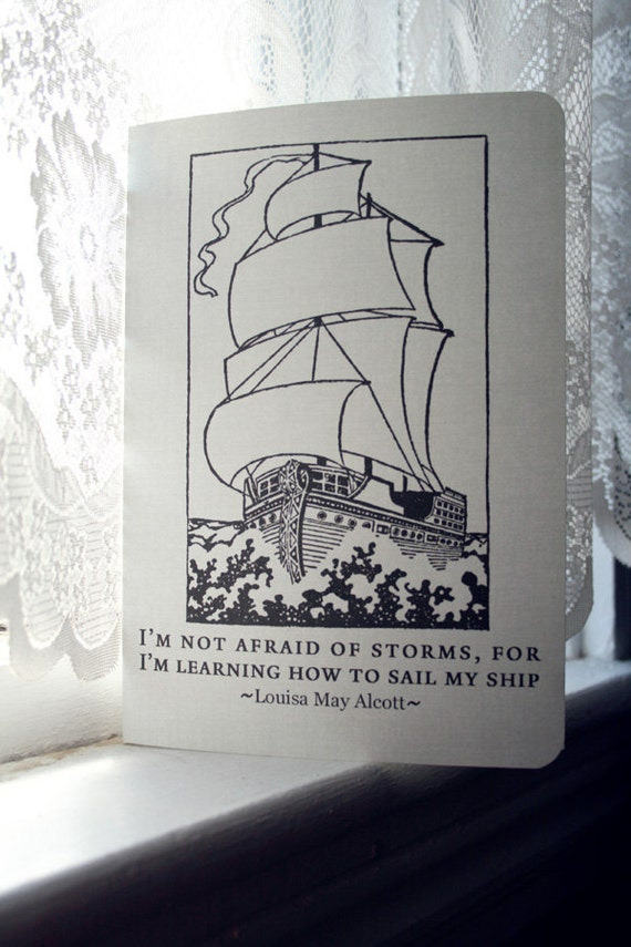 Louisa May Alcott Journal - Learning How to Sail