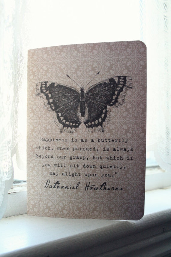 Hawthorne's Butterfly of Happiness Journal