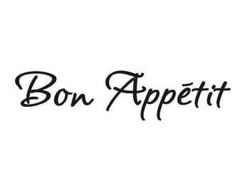 Bon Appetite wall art