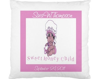 Sweet Baby Personalized Cushion Cover