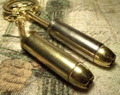 38 Special key ring fob chain with Golden Bullet. neat gift punk