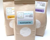 Laundry Soap- Large Bag 110-220 loads. All Natural, Vegan, Cloth Diaper Safe. Fall/Winter Scents are now available
