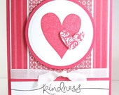 Kindness from the Heart Card