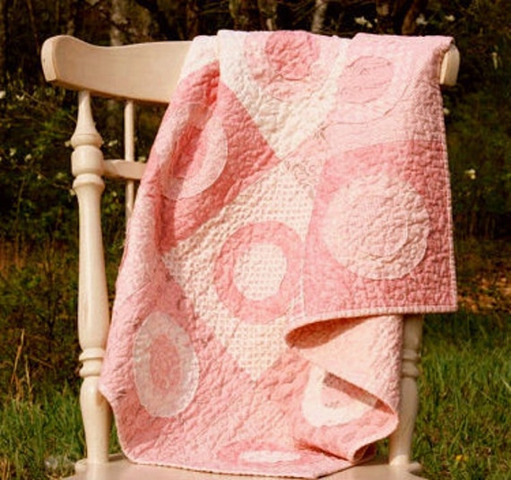Baby Girl Quilt - Puttin' on the Ritz -