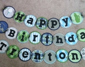 Golf birthday banner