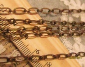 16 feet  fantastic cable chain-oval links-brass material chain-F253