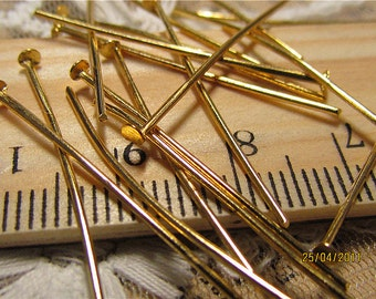 Promotion season-jewelry handmade must-have gold T pins-300 pcs