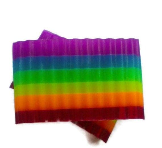 SALE - Rainbow Glycerin Soap